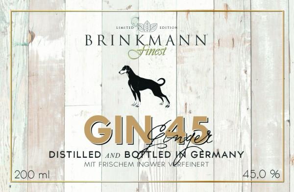 Gin 45 Ginger