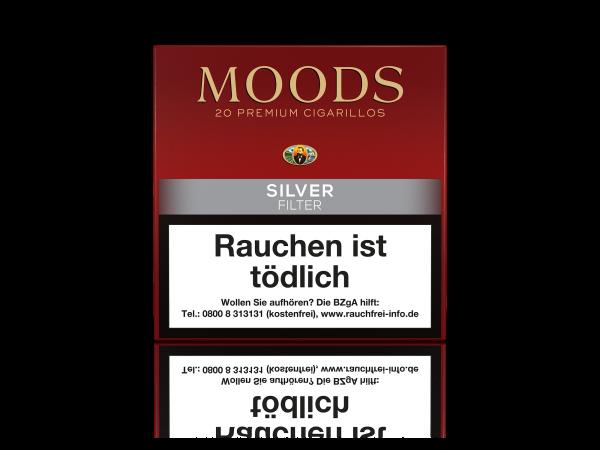 Moods Silver Filter Zigarillos