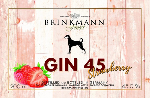 Gin45 Strawberry
