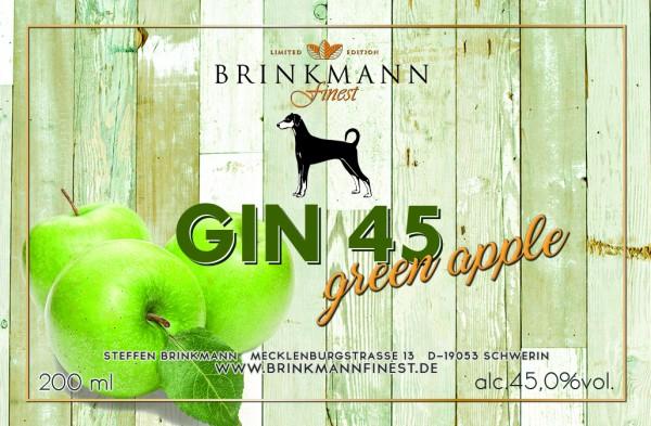 Gin45 Green Apple
