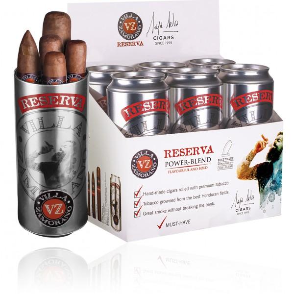 Villa Zamorano Cigar Can
