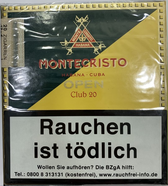 Montecristo Open Zigarillos