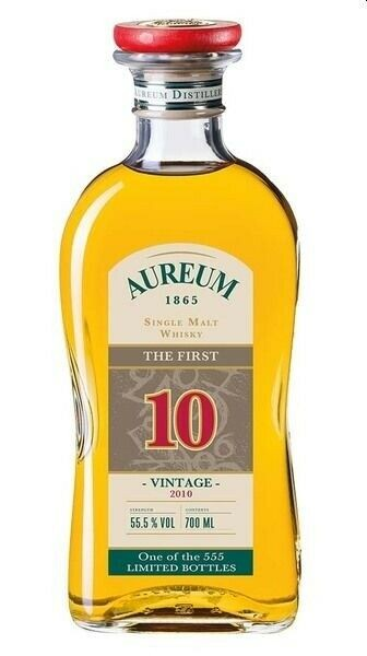 Aureum 1865 Single Malt Whisky The First - 10 Jahre