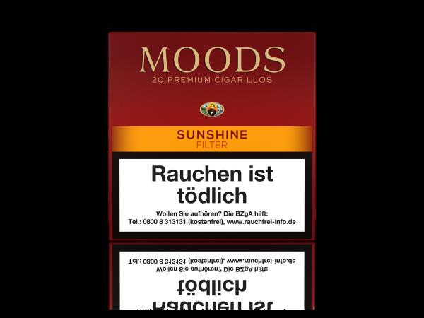 Moods Sunshine Filter Zigarillos