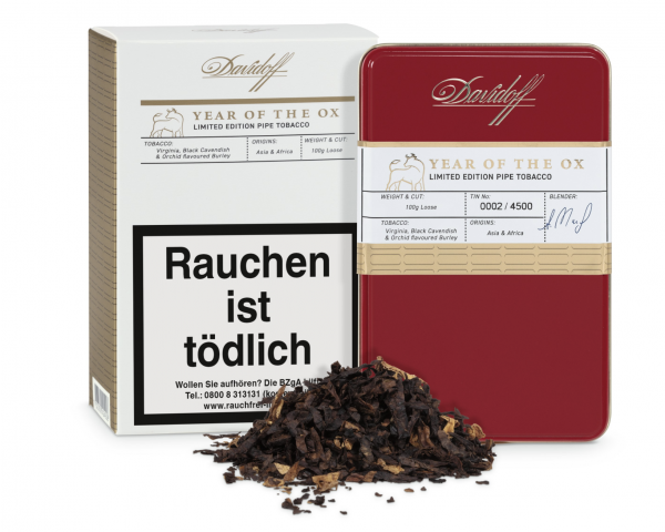 Davidoff Year of the Ox Limited Edition Pipe Tobacco