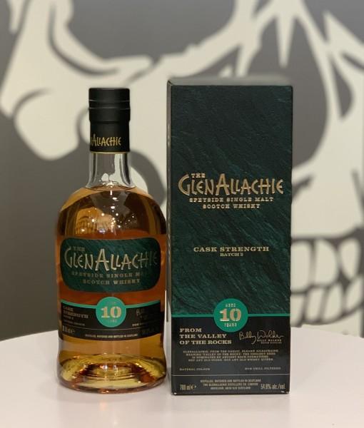 Glen Allachie 10 Jahre Cask Strength Whisky