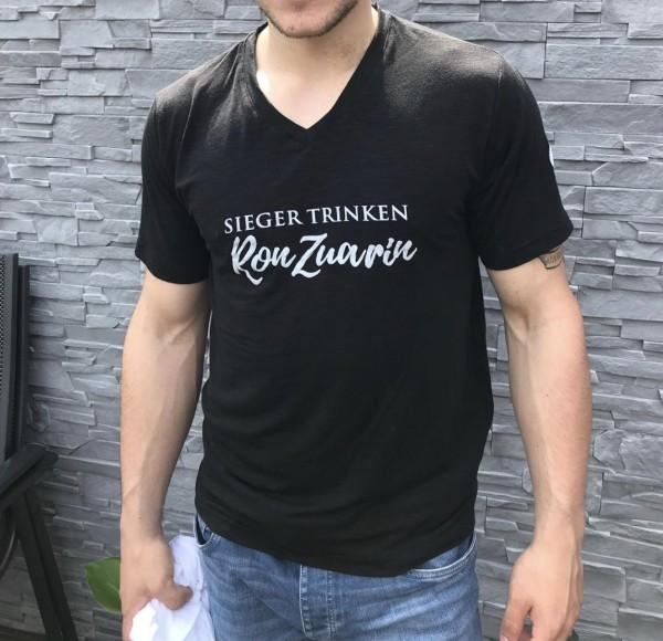 Sieger trinken Ron Zuarin - T-Shirt für Herren