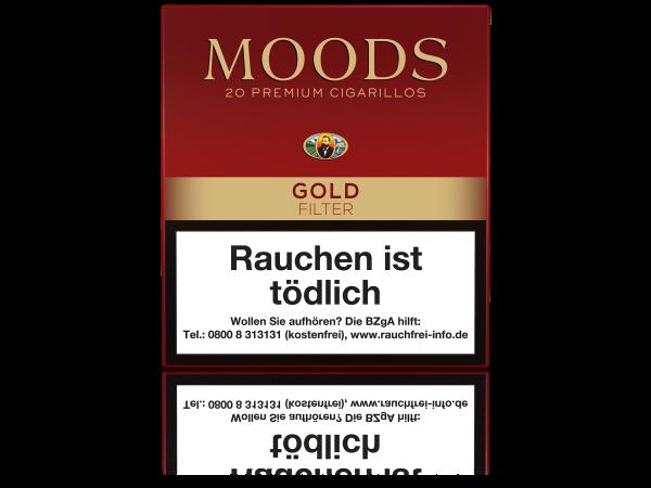 Moods Gold Filter Zigarillos