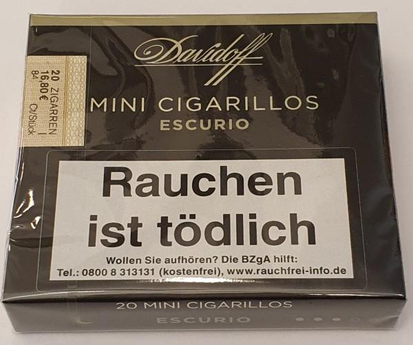 Davidoff Mini Cigarillos Escurio 20er