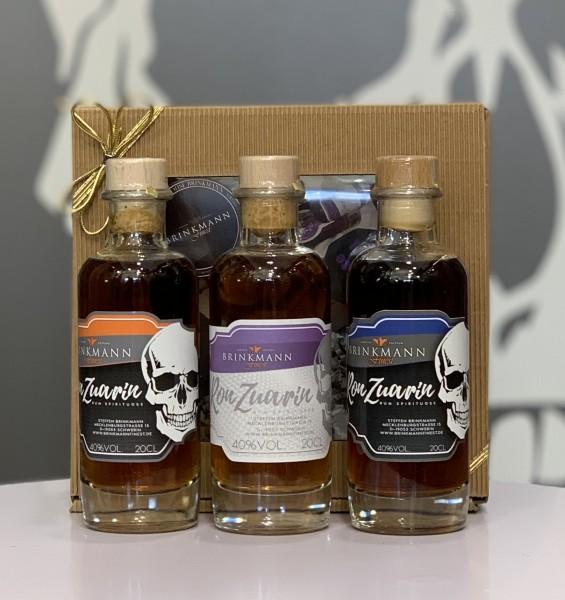 Ron Zuarin Rum-Sortiment 3x200ml