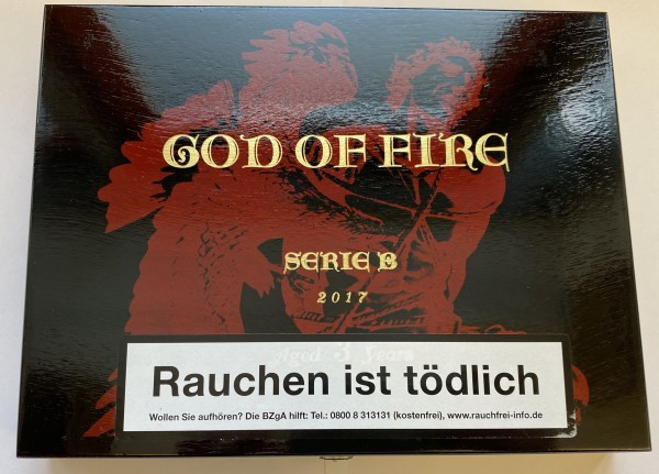 God of Fire Serie B 2017 Zigarre