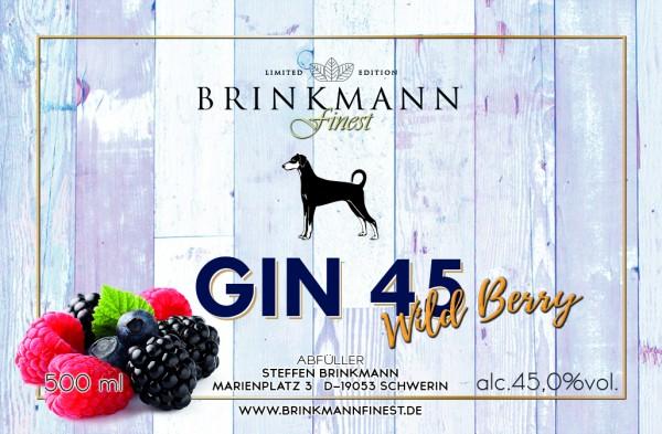 Gin45 Wild Berry