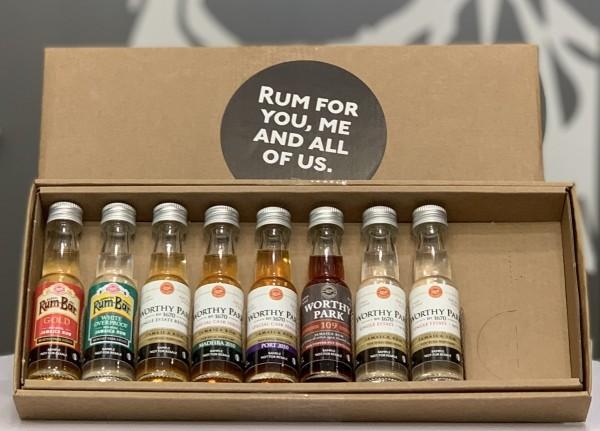 Worthy Park Rum Tasting Set