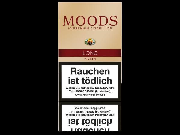 Moods Long Filter Zigarillos