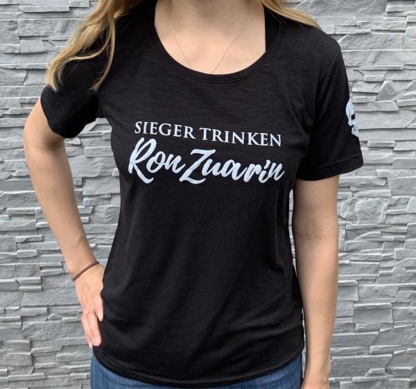 Sieger trinken Ron Zuarin - T-Shirt für Damen