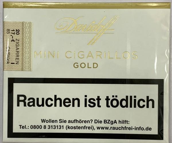 Davidoff Mini Cigarillos Gold 20er