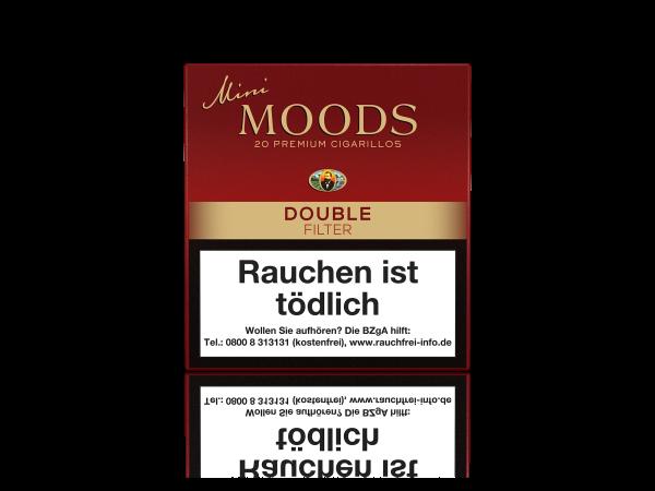 Mini Moods Double Filter Zigarillos